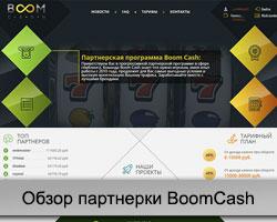 Партнерская программа BoomCash